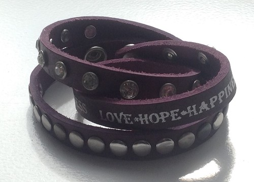 Armband Love Hope Happiness